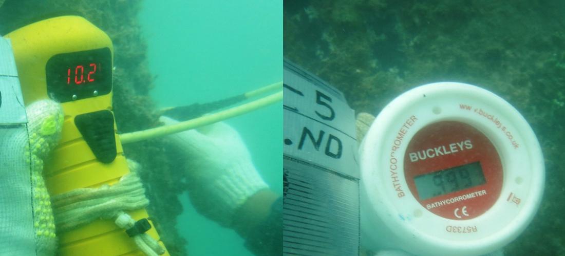 Underwater CP & UT Measurement
